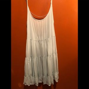 ❤️Brandy Melville Pastel/ Silver Jada Dress